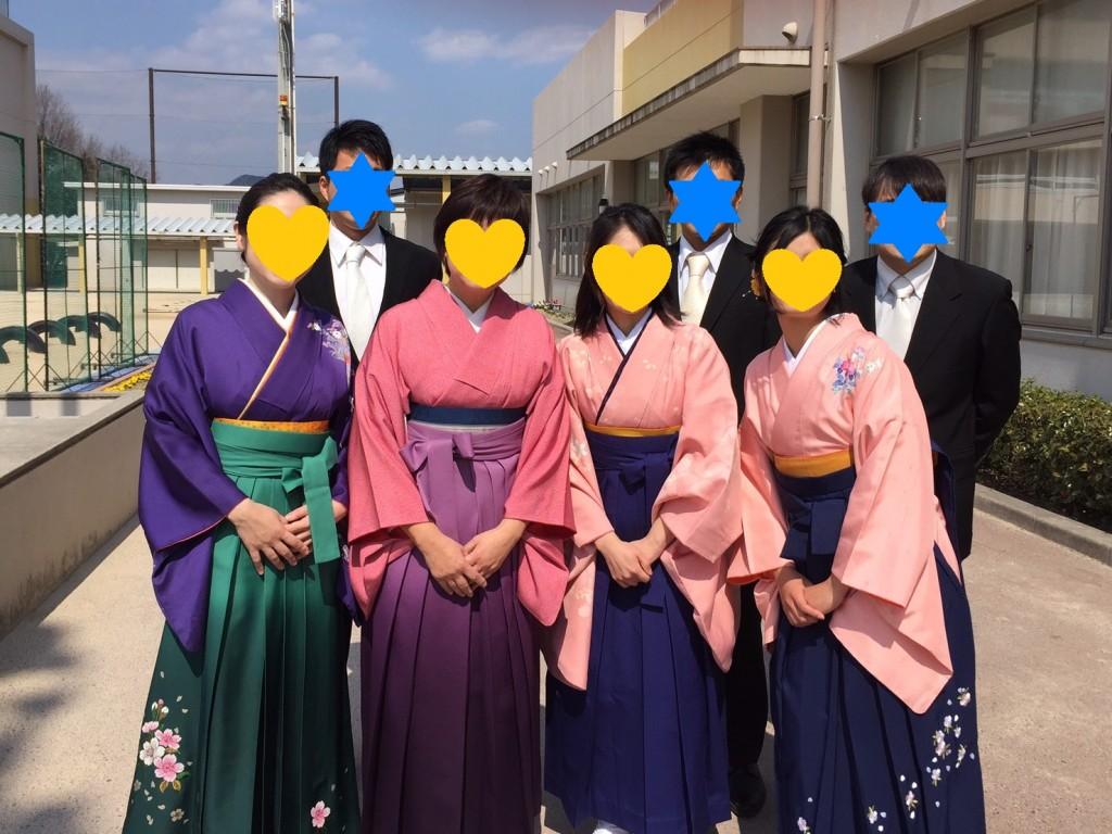 卒業式袴(先生)