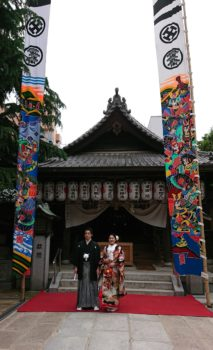 空鞘稲生神社 結婚式